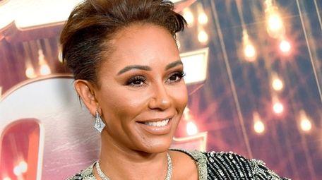 "Mel B arrives at ""America's Got Talent: The"