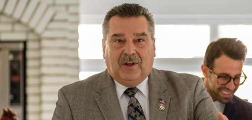 Mayor Tim Tenke, shown on Oct. 24, 2018,