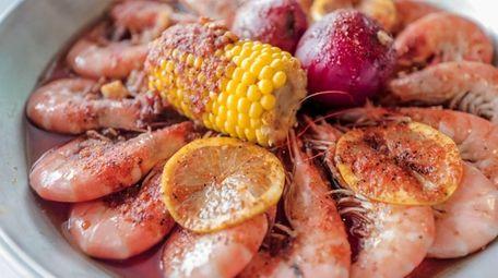 Cajun shrimp dish will be on the menu