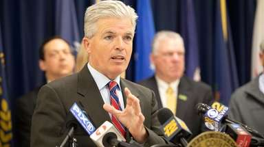 Suffolk County Executive Steve Bellone, a Democrat seeking