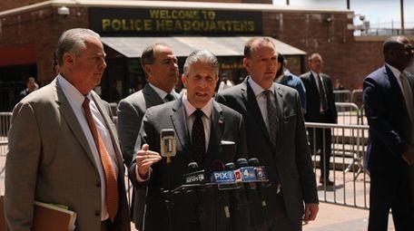 Patrick Lynch, President of the Patrolmen's Benevolent Association,