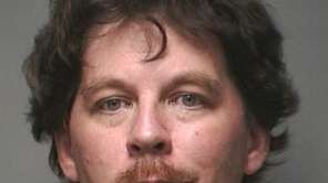 Walter Murphy, 46, of Hicksville, was arrested and