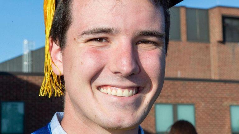 Graduate Michael Duffy of Lindenhurst said he's going