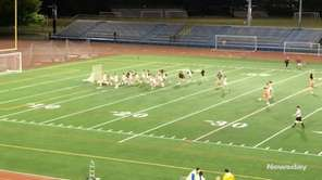 The St. Anthony's girls lacrosse team defeated Sacred