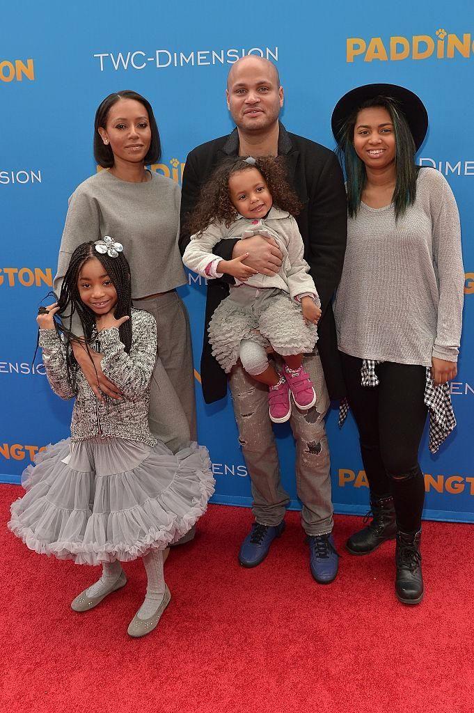 Parents: Melanie Brown and Stephen Belafonte Children: Madison,