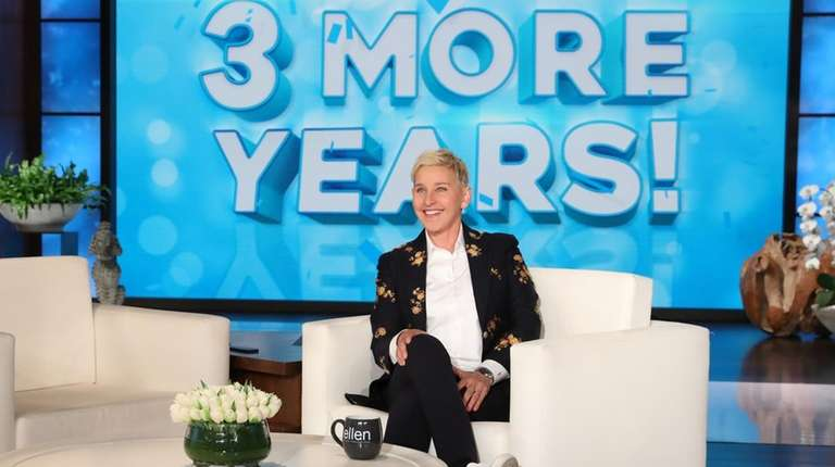 Ellen DeGeneres announces during an episode of her