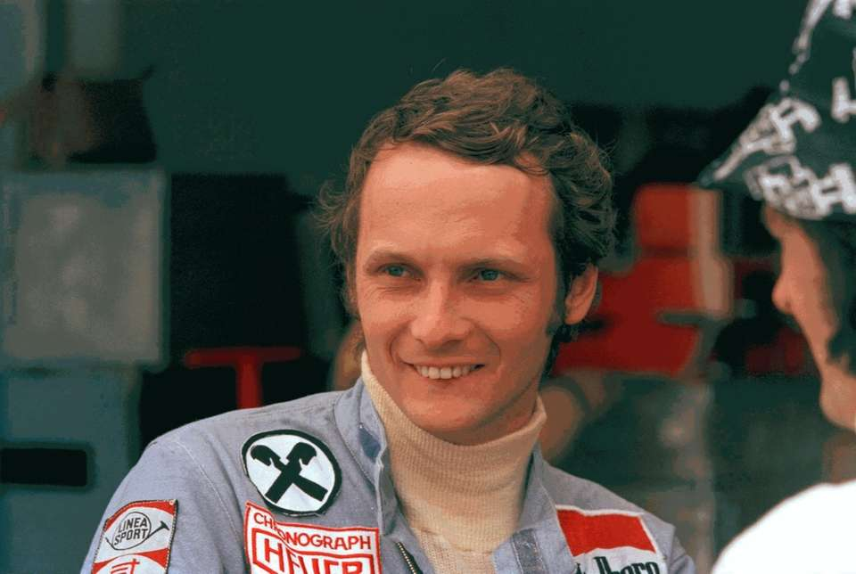 Formula One great Niki Lauda, who won two