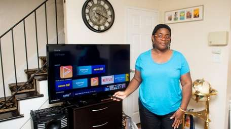 Danielle Cuffie, seen on May 6, uses Magic