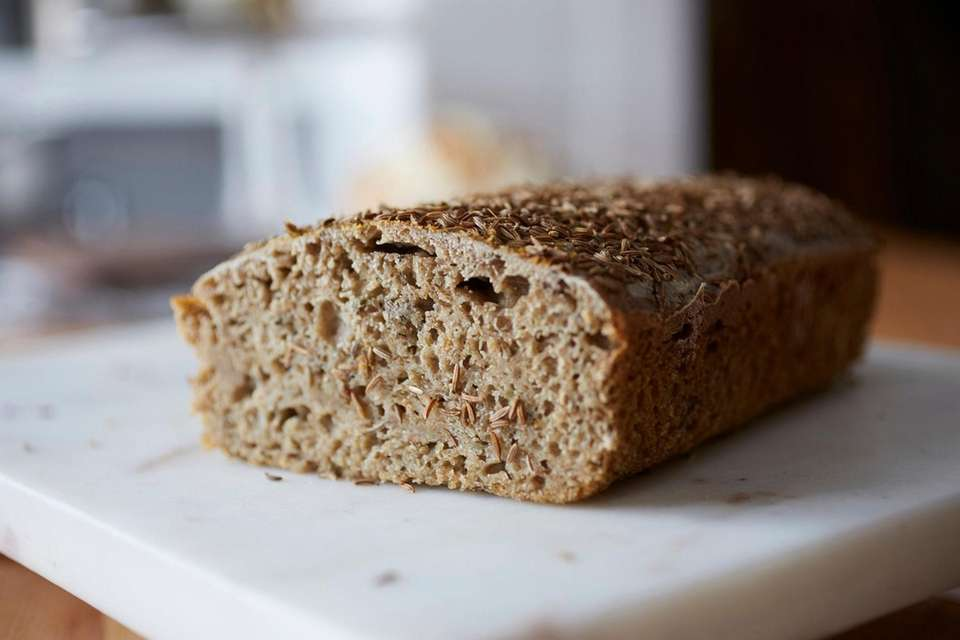Salty sour pickle rye bread, Carissa's Bakery, Easthampton,