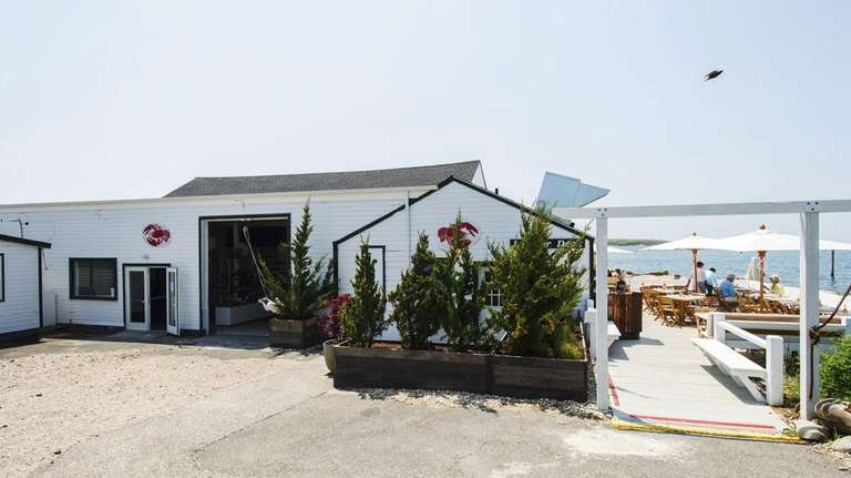 Duryea's Lobster Deck in Montauk is the subject