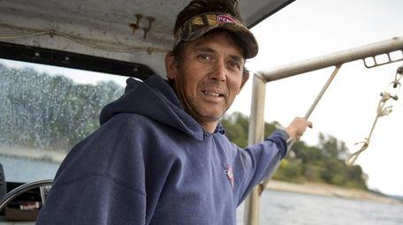 Independent fisherman Bryan C. Murphy, seen here on