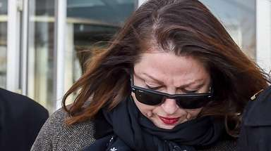 AnneMarie Drago on Jan. 14. Drago is charged