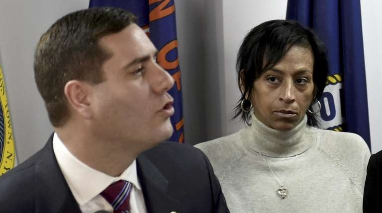 Evelyn Rodriguez, mother of gang victim Kayla Cuevas,