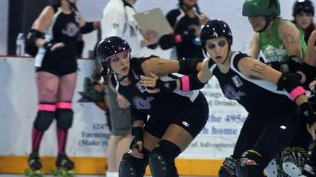 The Long Island Roller Rebels hosted the second