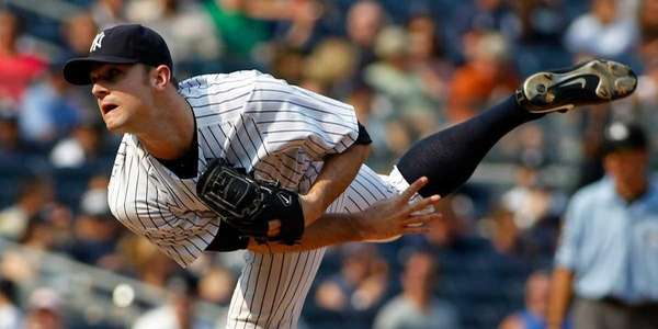 New York Yankees' David Robertson #30 closes out
