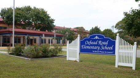 Oxhead Road Elementary School in Centereach, seen in