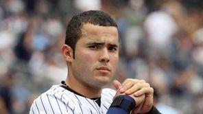 Jesus Montero #63 of the New York Yankees