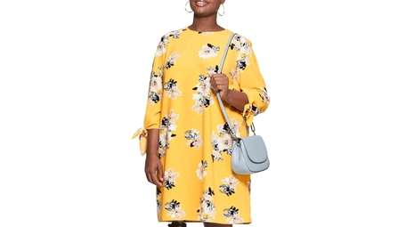 Bright bouquet: Easy, relaxed fit, floral shift with
