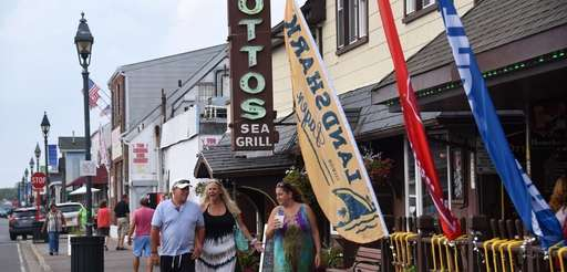 The Nautical Mile in Freeport is a big