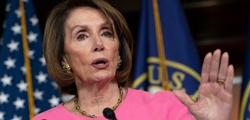 Speaker of the House Nancy Pelosi, D-Calif., meets