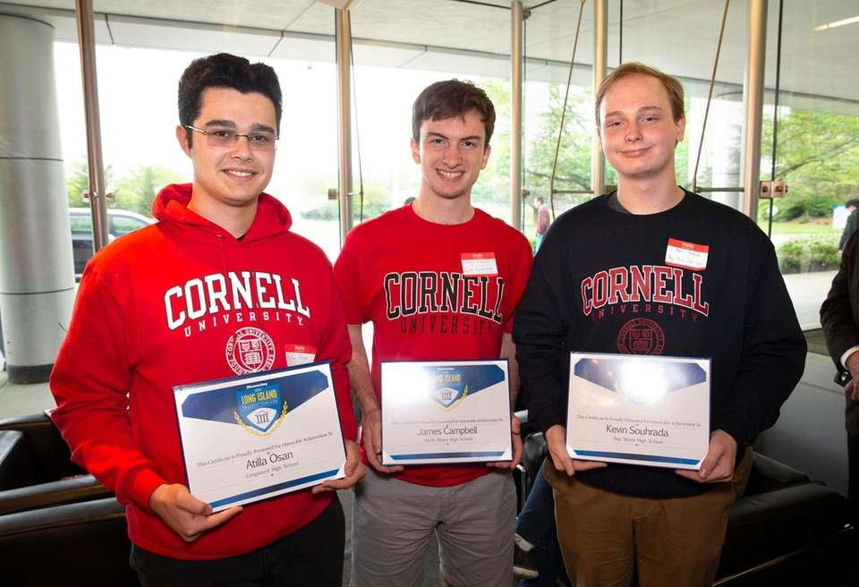 Long Island valedictorians who will attend Cornell University