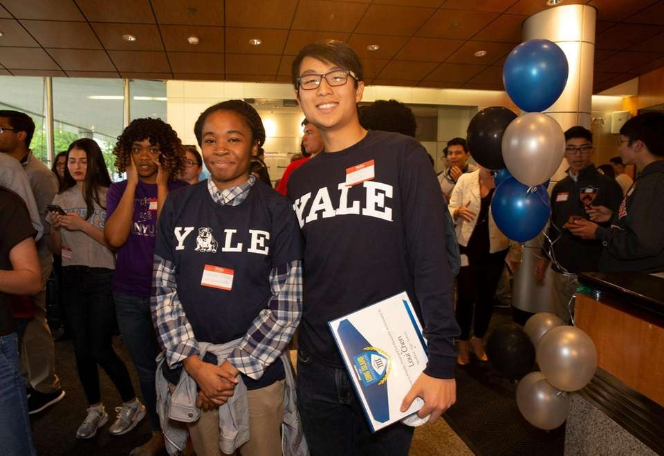 Long Island valedictorians who will attend Yale University