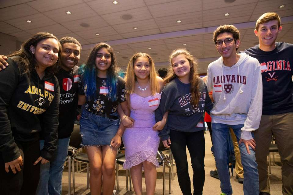 Long Island valedictorians come to Newsday in Melville
