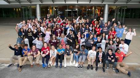 Long Island valedictorians come together at Newsday in