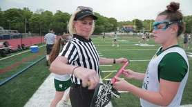 High school sports umpires, referees and officials on