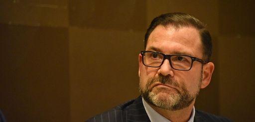 NIFA chairman Adam Barsky at a meeting last