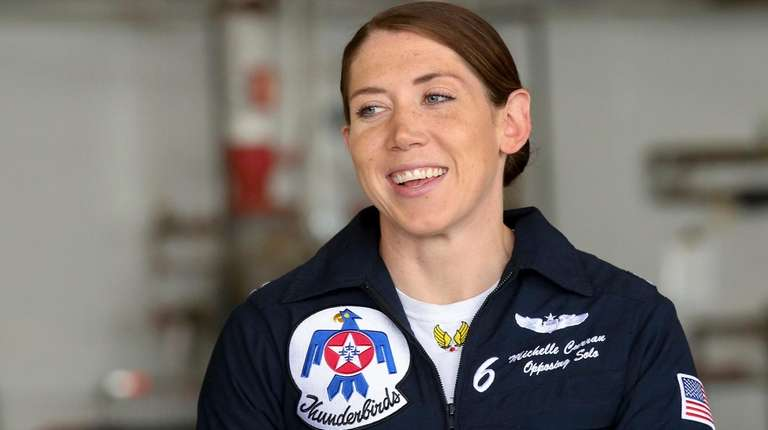 Air Force Capt. Michelle Curran, one of the