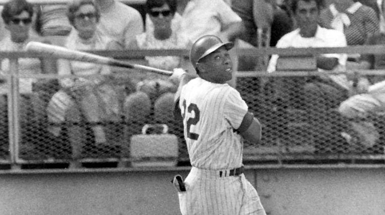 Clendenon Donn, September 7, 1969, Shea Stadium. Mets