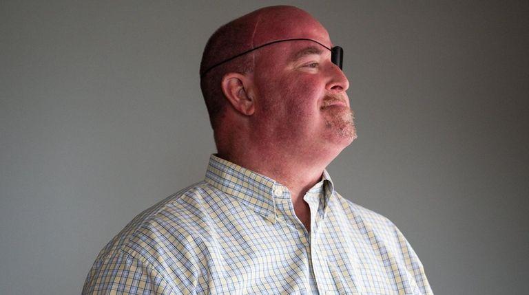 William Sullivan, 52, at his home in Bayport,