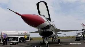 A Thunderbird pilot discussed what viewers will see
