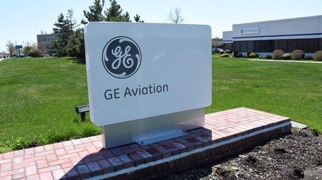 GE Aviation in Bohemia, on April 23.