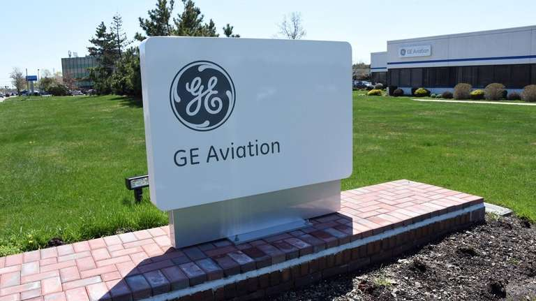 GE Aviation in Bohemia, on April 23.