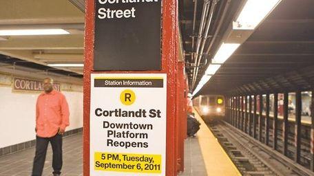 Cortland St. R Station