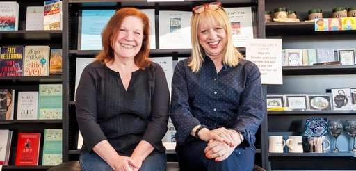 Owners Peggy Zieran and Carol Hoenig at Turn