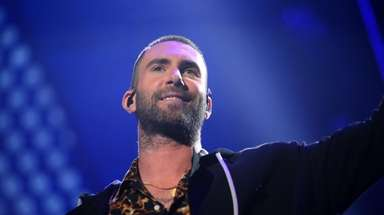 Adam Levine who has coached