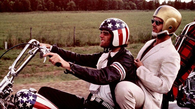 Jack Nicholson and Peter Fonda in 1969's