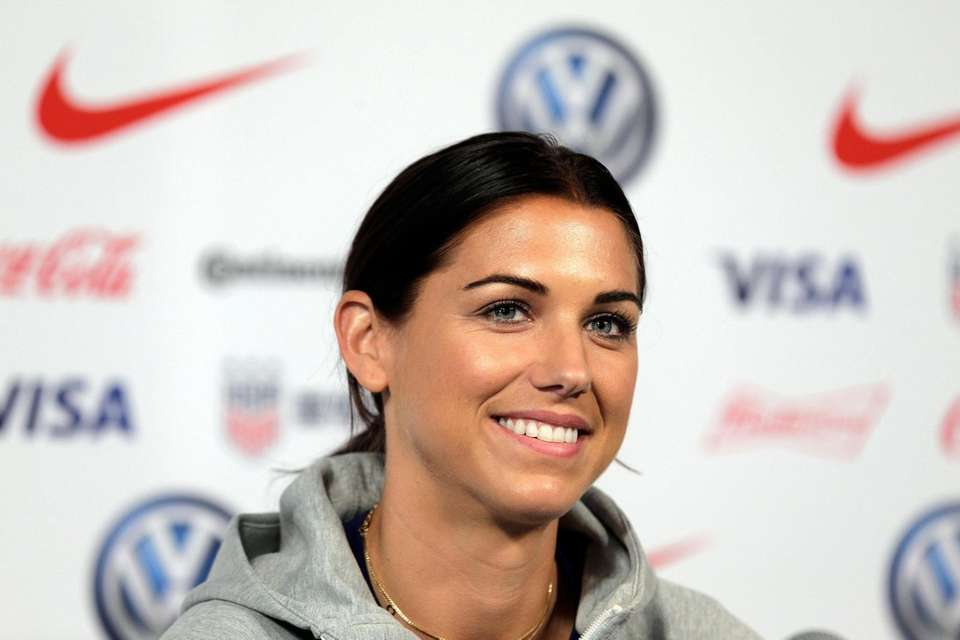 Alex Morgan, a member of the United States