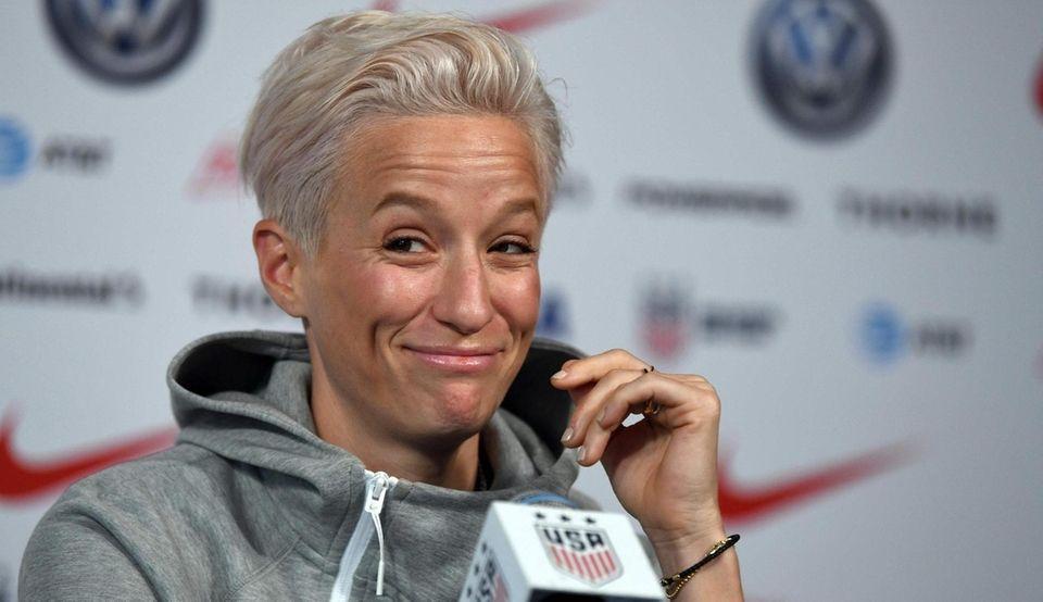 US Soccer Womens National Team player Megan Rapinoe