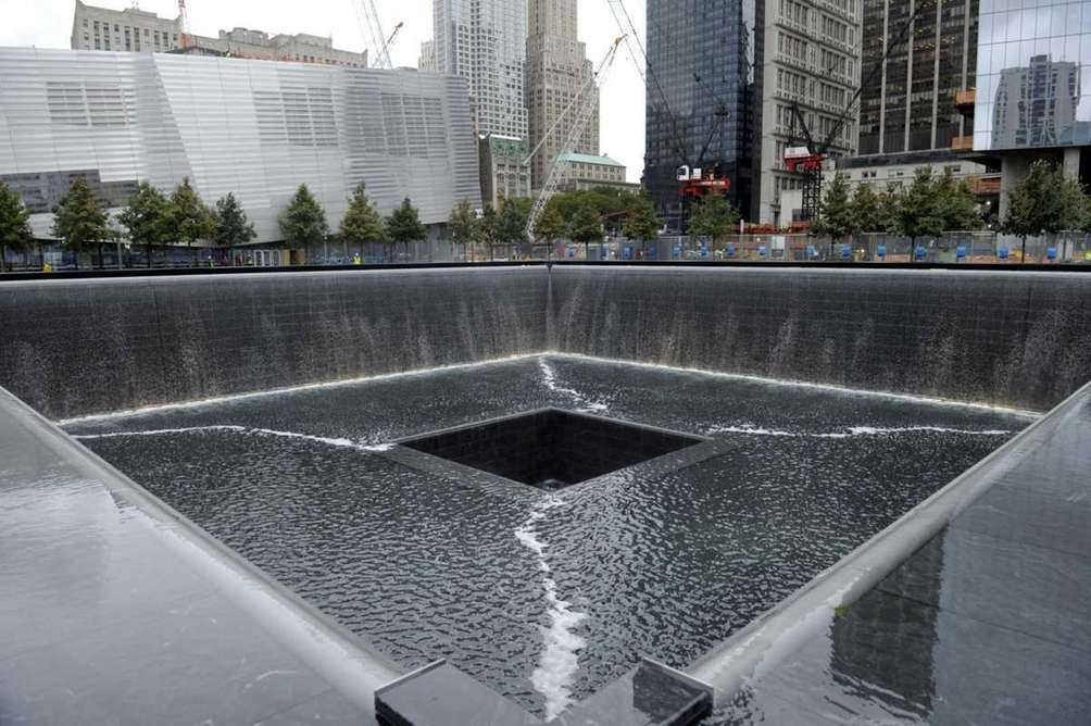 A view of the World Trade Center south