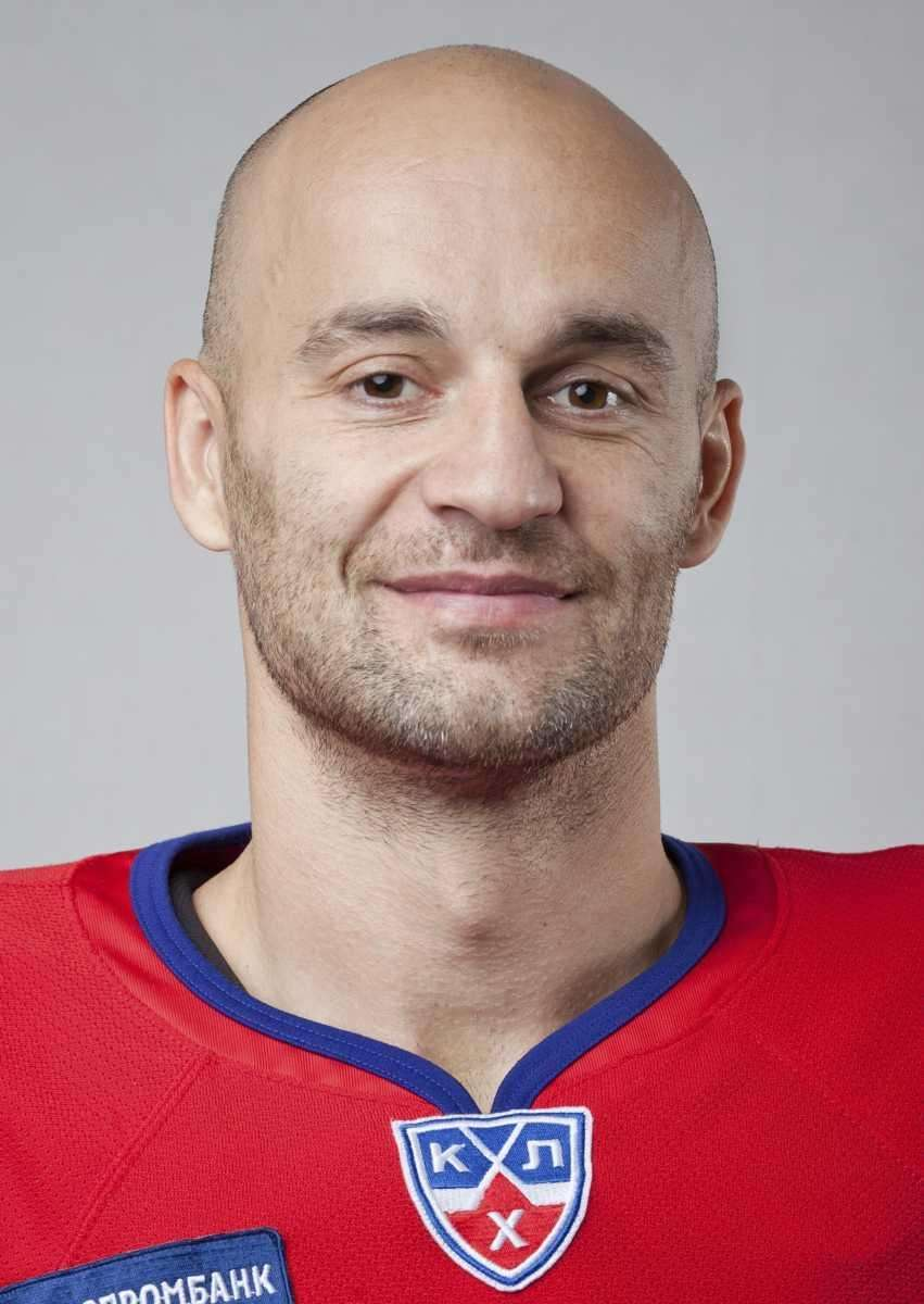 This recent undated photo shows Slovakian Pavol Demitra,