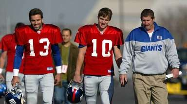 Back in 2004, Kurt Warner was the Giants