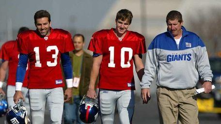 Back in 2004, Kurt Warner was the Giants