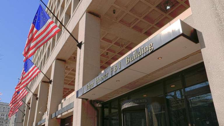 The J. Edgar Hoover Building in Washington, headquarters