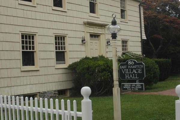 East Hampton Village Hall is located on Main
