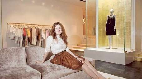 Giovanna Randall, of Honor clothing store in the