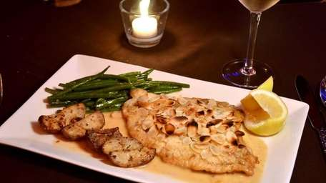 Filet of Dover Sole, served at Serata in